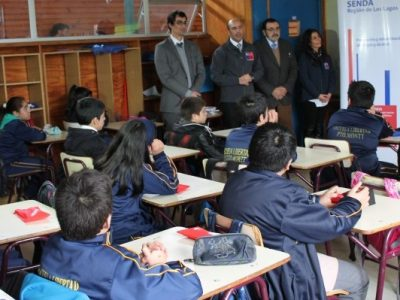 Implementan en colegios de Llay Llay programa preventivo Actitud