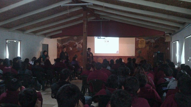 Organizan acciones preventivas con transporte público de Las Cabras