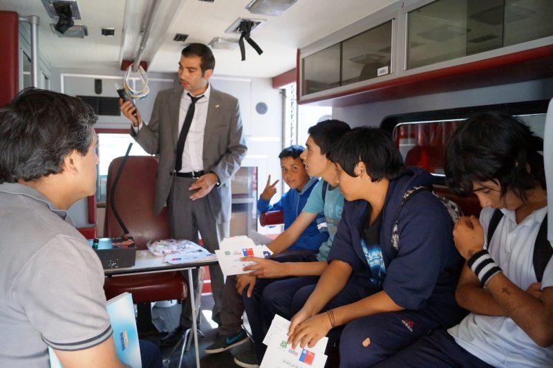 Con muestras artísticas y música establecimientos educacionales de San Vicente celebran el día de la Prevención
