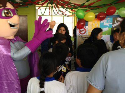 Teatro infantil cerró mes de la Prevención en Nancagua