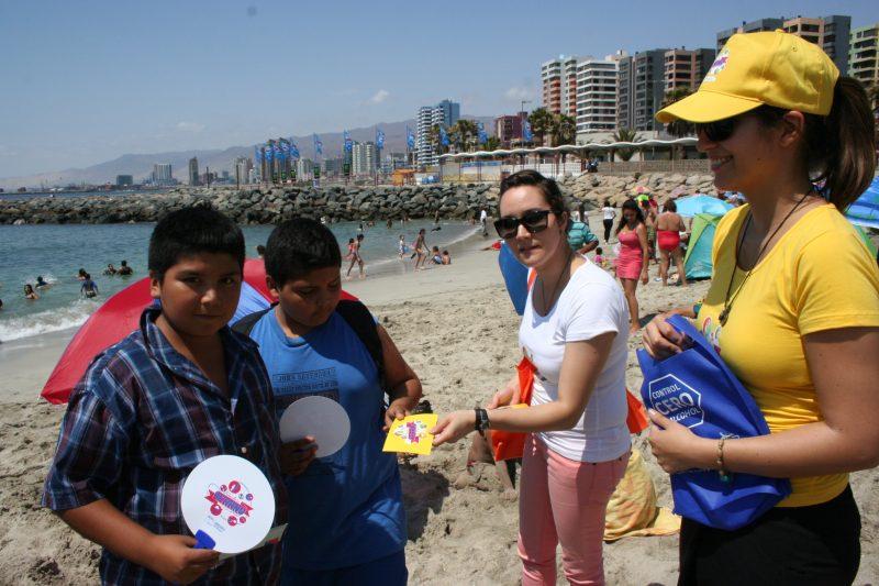 Cuatro liceos de Iquique participaron en proyecto preventivo de SENDA