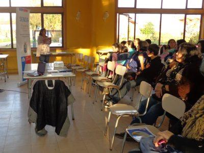 Cerca de 70 docentes de la Araucanía finalizan diplomado en prevención