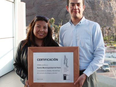 Constructora de Iquique elabora diagnóstico organizacional preventivo con apoyo de SENDA