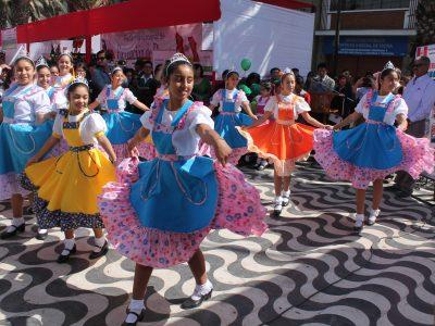 Campaña «Decide tu verano» llega a feria costumbrista de Río Hueico