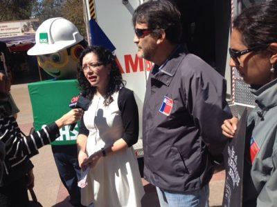 En San Fernando: Con fiesta callejera sensibilizan sobre el consumo de drogas y alcohol