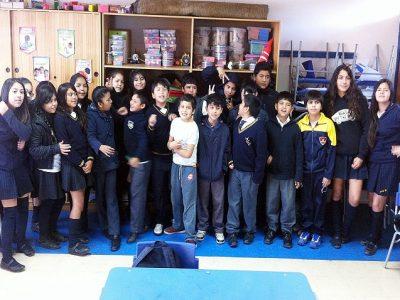 Niños y jóvenes participaron de Feria Escolar Preventiva en Natales