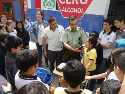 Estudiantes de liceo de Tierra Amarilla debatieron sobre drogas y alcohol