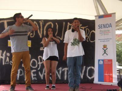 Colegio de Cerro Navia presenta programa Chile Previene en la Escuela
