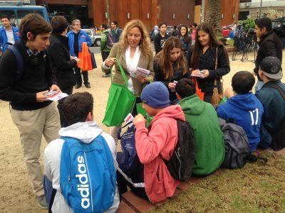 SENDA-Previene de Huasco realiza ferias preventivas en establecimientos educacionales