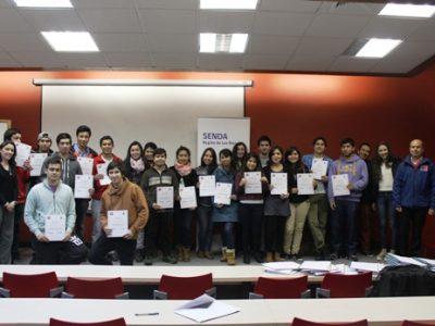 Senda Los Ríos finalizó curso sobre Drogodependencia a estudiantes UACh