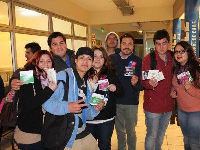 Senda participa de feria para alumnos de IPChile Rancagua