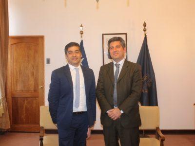 Director Nacional se reúne con autoridades de la región de Coquimbo