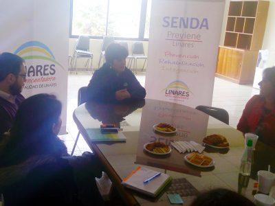 Carabineros y SENDA implementan controles preventivos en Los Álamos