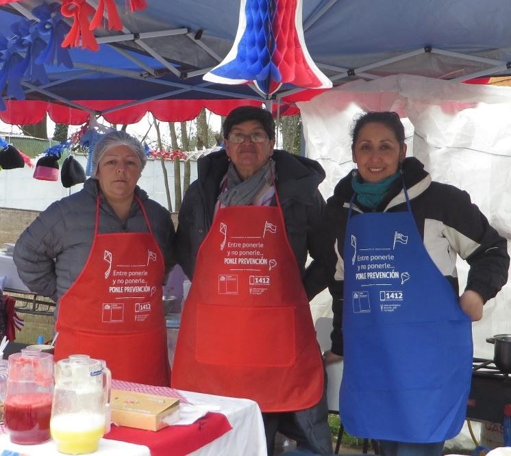 Senda Previene Purranque participó en Expo Fiestas Patrias