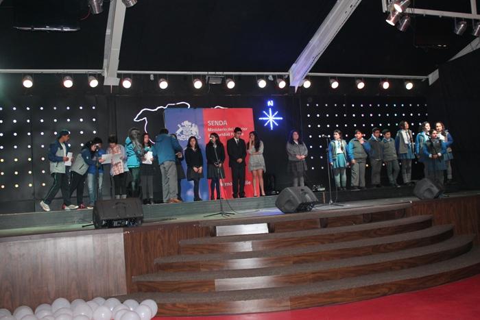 "Liceo Politécnico Werner Grob de La Unión ganó Festival Preventivo ""Se escucha tu voz. Dilo cantando"""