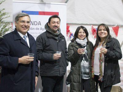 Senda participó de fonda sin alcohol de Inacap Coyhaique