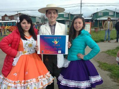 SENDA Previene Paillaco  realizó campaña comunal de Prevención en  Fiestas Patrias