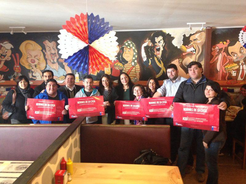 Locatarios de Puerto Montt se unen a las Normas de la Casa en Fiestas Patrias