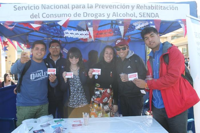 Senda Coquimbo lanza campaña preventiva por Fiestas Patrias