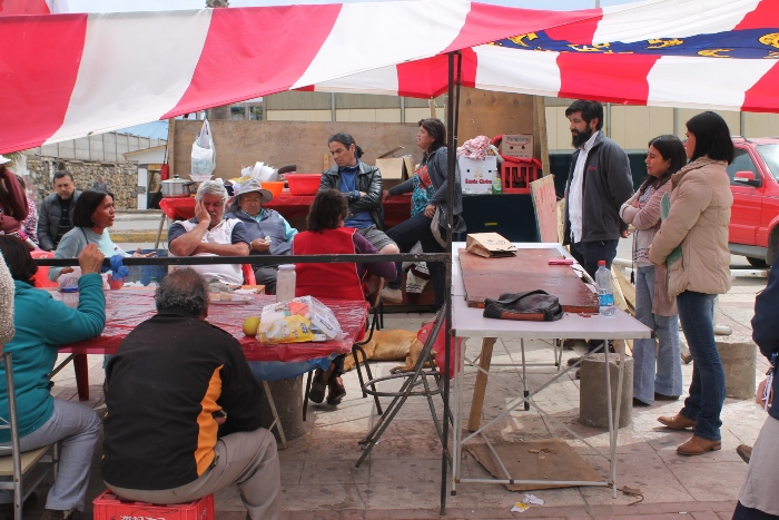 Profesionales de Senda entregan apoyo a un grupo de artesanos de Coquimbo