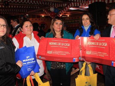 Senda Los Lagos entregó recomendaciones en ramadas de Puerto Montt