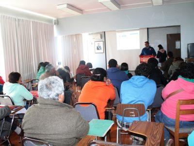 AUTORIDAD SANITARIA y SENDA  Realizaron taller de manipulación de alimentos y prevención para fonderos