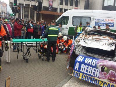 Impactante cifra de accidentes en La Araucanía previo a Fiestas Patrias