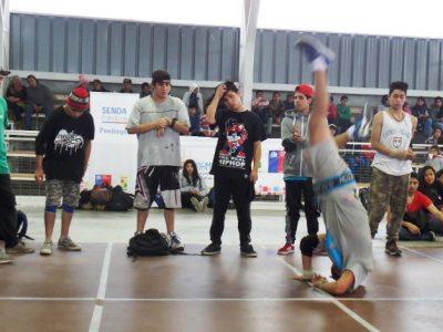 Previene Punitaqui se reúne con jóvenes en encuentro de breakdance