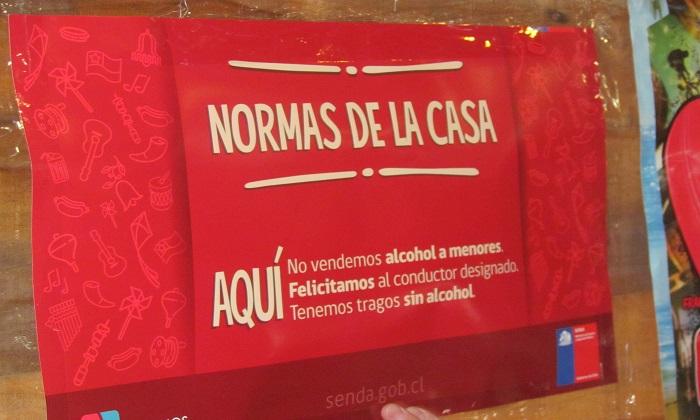 SENDA llama al Expendio Responsable de Alcohol