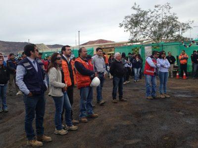 En Andacollo difunden campaña preventiva por Fiestas Patrias