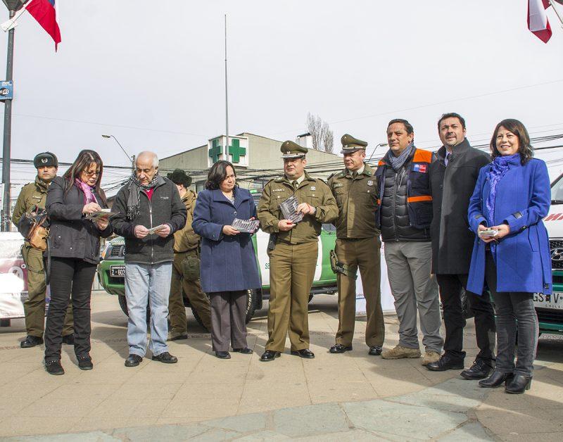 CORESET Aysén lanza campaña por unas Fiestas Patrias Seguras