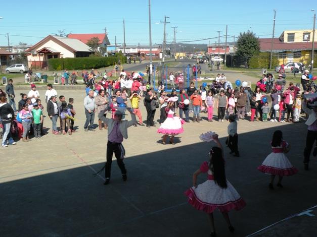 Senda Previene Valdivia celebró Fiestas Patrias junto a vecinos de sector focalizado