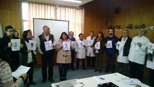 Senda Previene Paillaco capacitó en temáticas preventivas a docentes del Liceo Rodulfo Amando Philippi