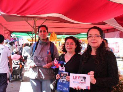 En Andacollo, corren en familia por la prevención
