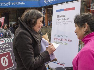 Refuerzan campaña de prevención de accidentes en Gobierno en Terreno