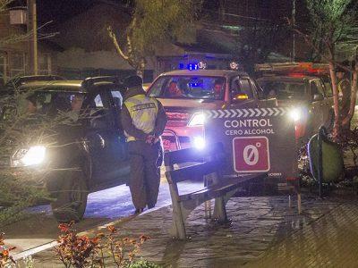 Senda Aysén desplegó controles preventivos a conductores en Aniversario de Coyhaique.