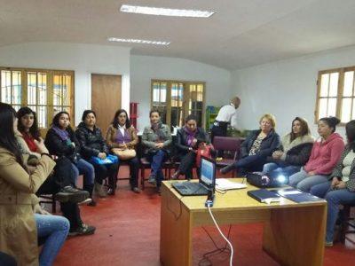 Organizaciones de Arica y Parinacota conocen Fondos Concursables de SENDA