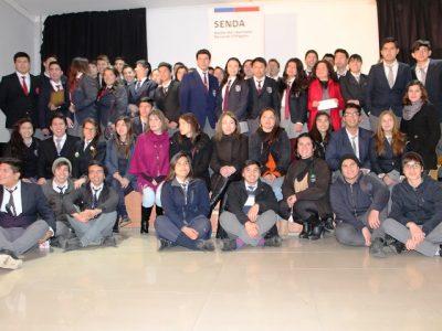 Liceo Bicentenario de San Vicente obtiene primer lugar en debate de Senda