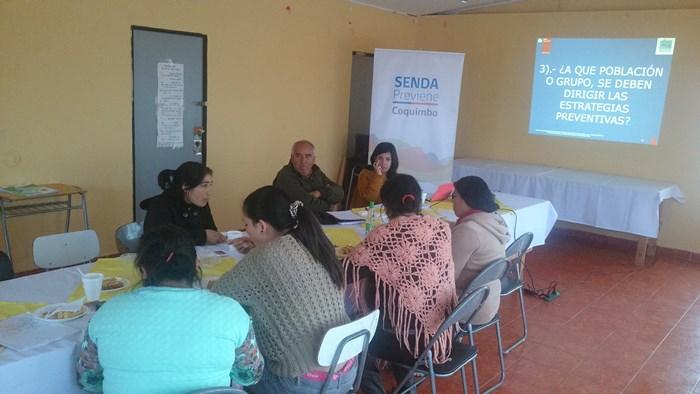 Realizan primeros diálogos barriales en sector de Tierras Blancas