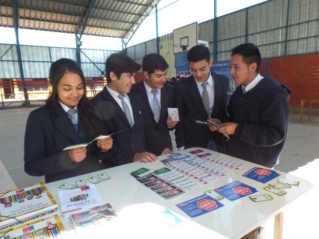 Escolares de Punitaqui conocen sobre los riesgos de consumir drogas y alcohol