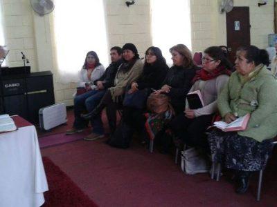 Previene Ovalle conforma mesa de trabajo con mujeres de Iglesia Bautista