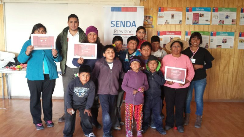 SENDA  llevó mensaje preventivo a Colchane y Cariquima en Fiestas Patrias