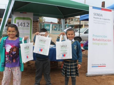 Senda entrega apoyo a damnificados del sector Peñuelas de Coquimbo
