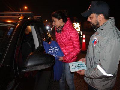 Autoridades participaron en operativo de control preventivo a conductores