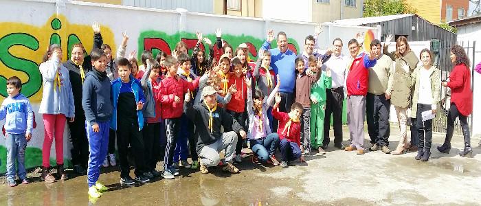 Senda Biobío lanza Programa Actuar en Comunidad en  Villa Islas del Sur de Chillán
