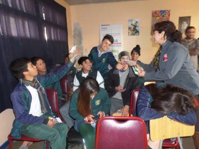 Escolares se interiorizan sobre la Ley de Responsabilidad Penal Juvenil