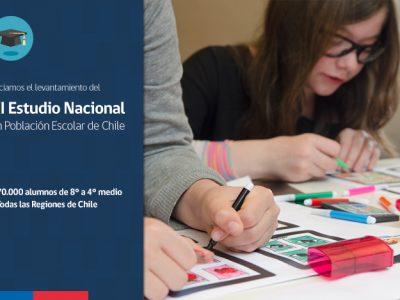 SENDA inicia levantamiento del XI Estudio Nacional en Población Escolar