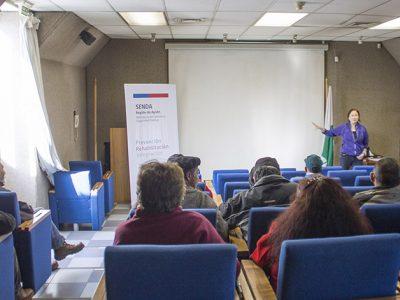 Senda capacitó a trabajadores del programa manejo de plantaciones de la Conaf