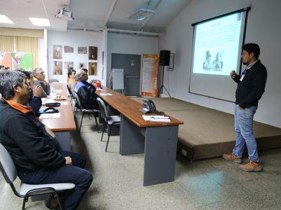 SENDA Antofagasta realiza charla preventiva a trabajadores contratistas de Minera Michilla