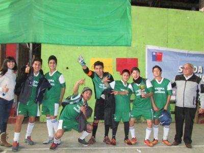 En Neltume fomentan el deporte como factor protector de prevención